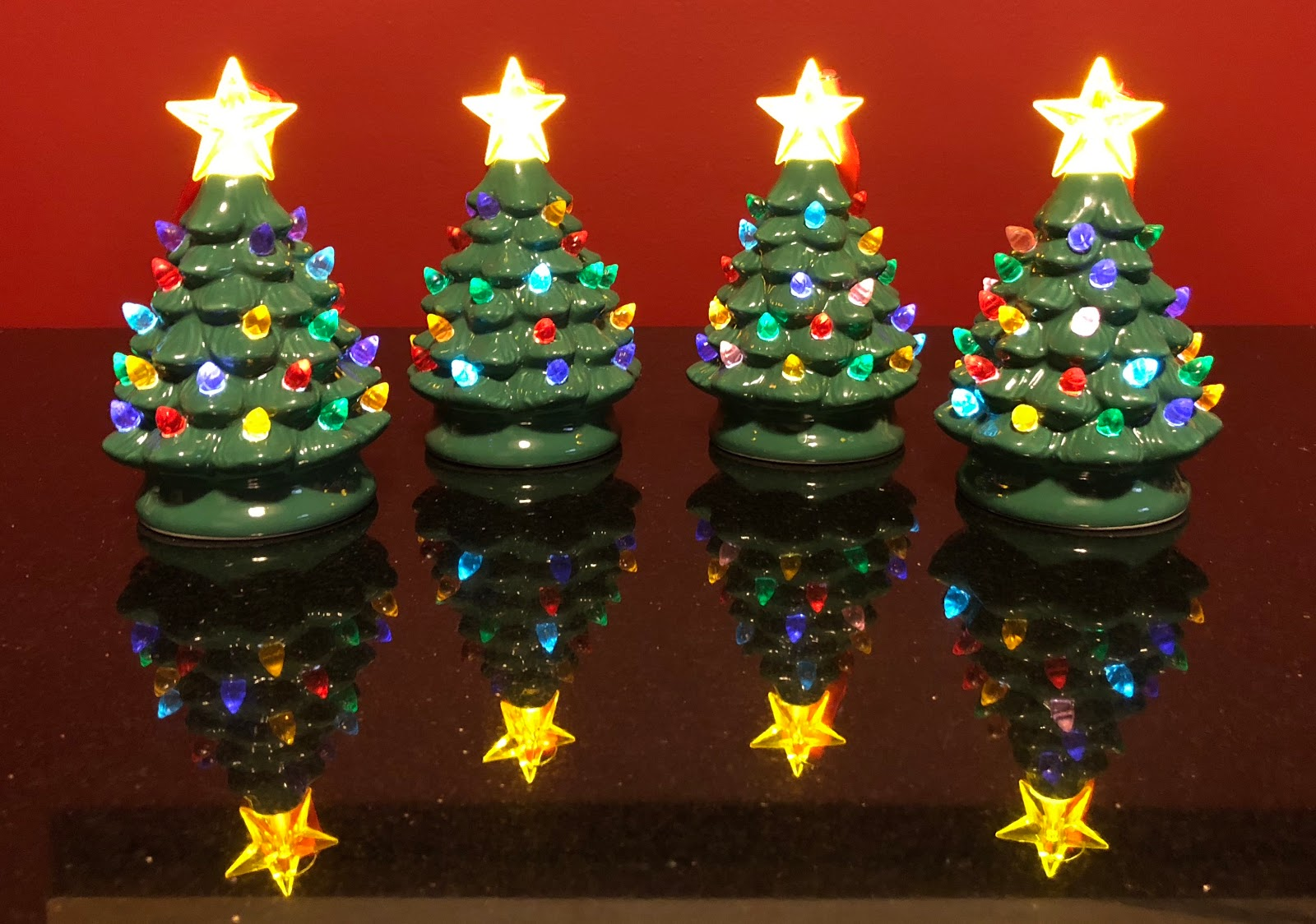 blue skies for me please qvcs mr christmas mini nostalgic tree ornaments review part 2