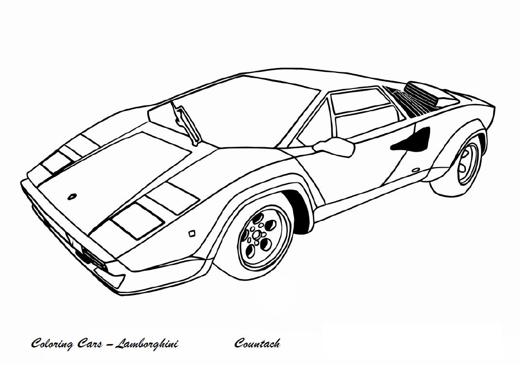 Lamborghini Da Colorare