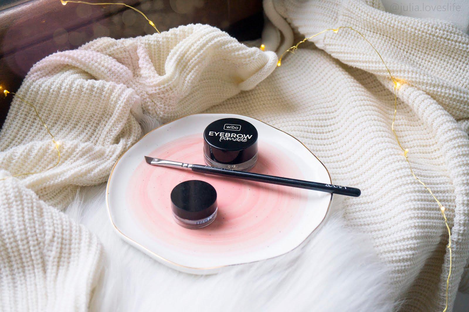 Jak malować brwi | Tutorial krok po kroku | Pomada Inglot czy Wibo?