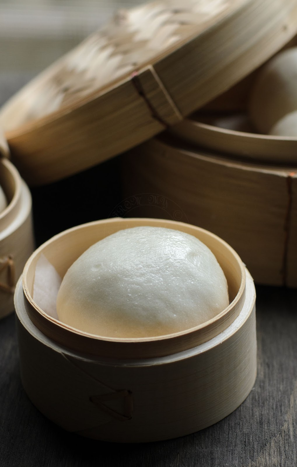 Red Bean Steamed Buns photo