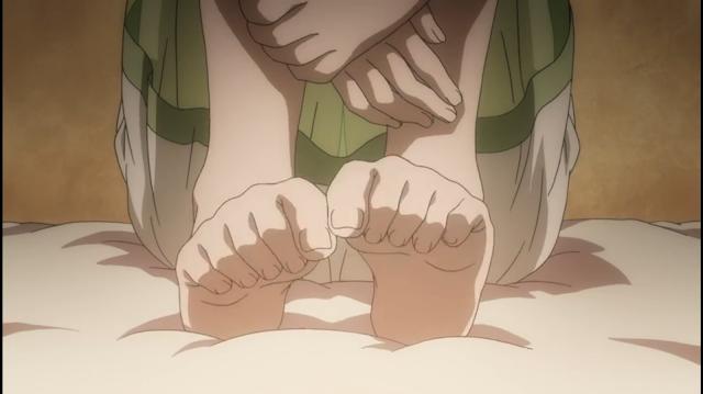 アニメ「ソード・オラトリア」6話感想:下乳&膝枕アイズたん、ぷっくりアイズたん、生足アイズたん!