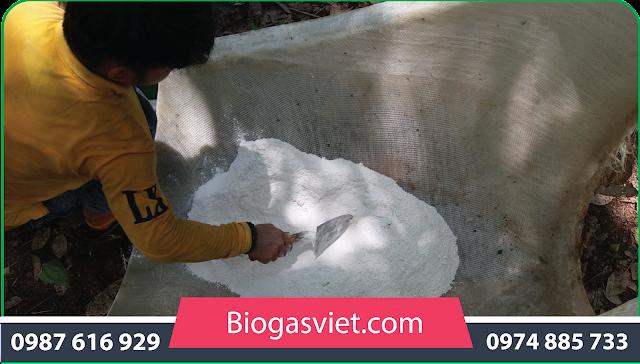 hầm ủ xử lý chất thải