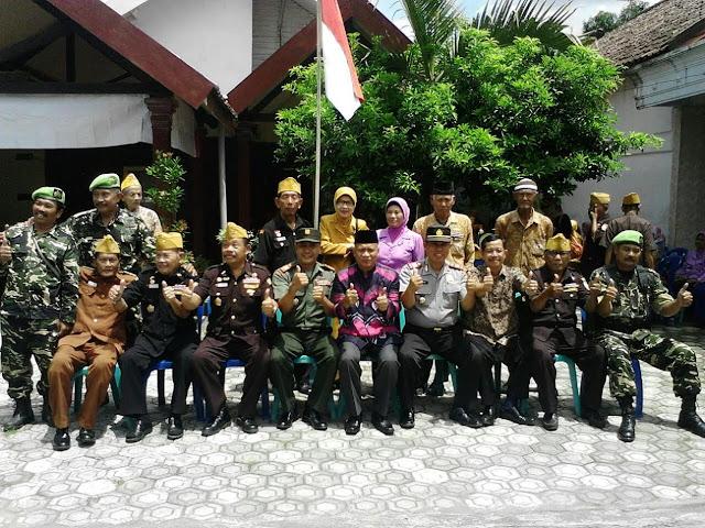 Temu Komponen Masyarakat Bersama TNI, POLRI, LVRI Dan Banser