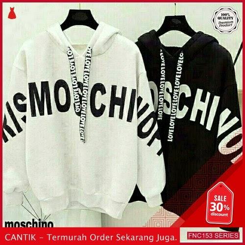 FNC153S55 Sweater Moschino Tali Hodie Wanita Babyterri BMGShop Serba 50 Ribuan