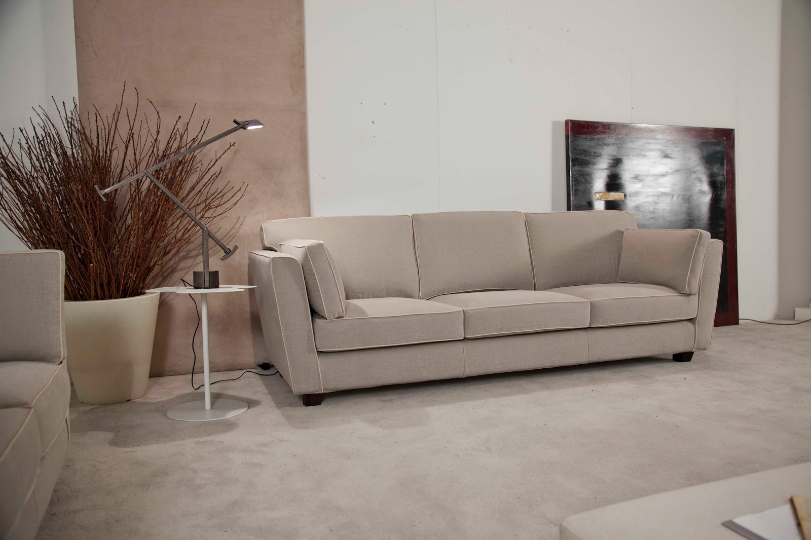 Santambrogio salotti produzione e vendita di divani e letti anche su misura - Divano artigiano milano ...