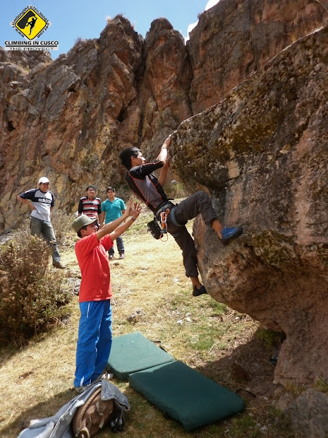""" Rock"" Climbing Center Rock And Canyoning In Cusco Peru"