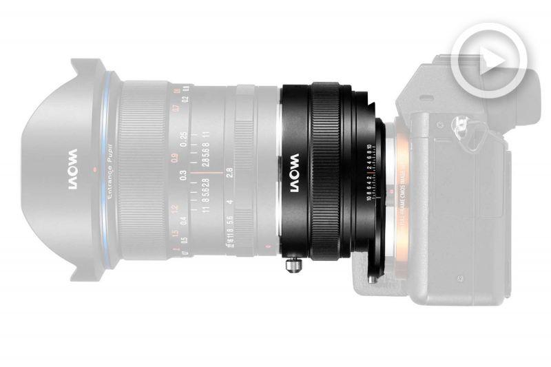 Адаптер Laowa Magic Shift для беззеркальных камер Sony
