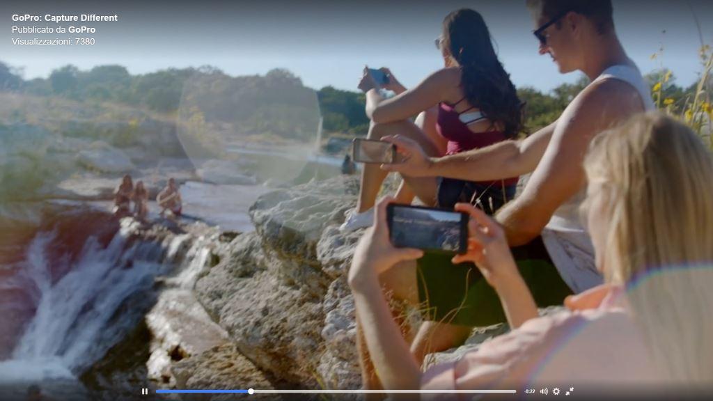 Pubblicità GoPro con i comandi vocali 'Avvia Registrazione' - Testo con parole, canzone e video - 2016