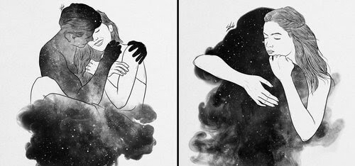 00-Muhammed-Salah-Smoky-Surreal-Ghost-Drawings-www-designstack-co