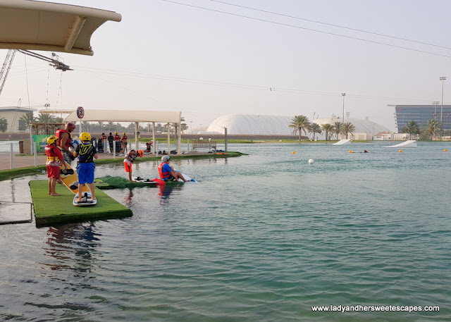 Ed at Al Forsan Wakeboarding