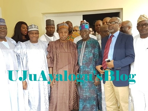 APC Chieftains, Governors Pay Condolence Visit to Grieving Tinubu Over Death of His Son, Jide (Photos)