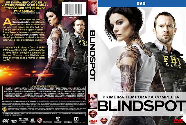 Capa DVD Blindspot Primeira Temporada