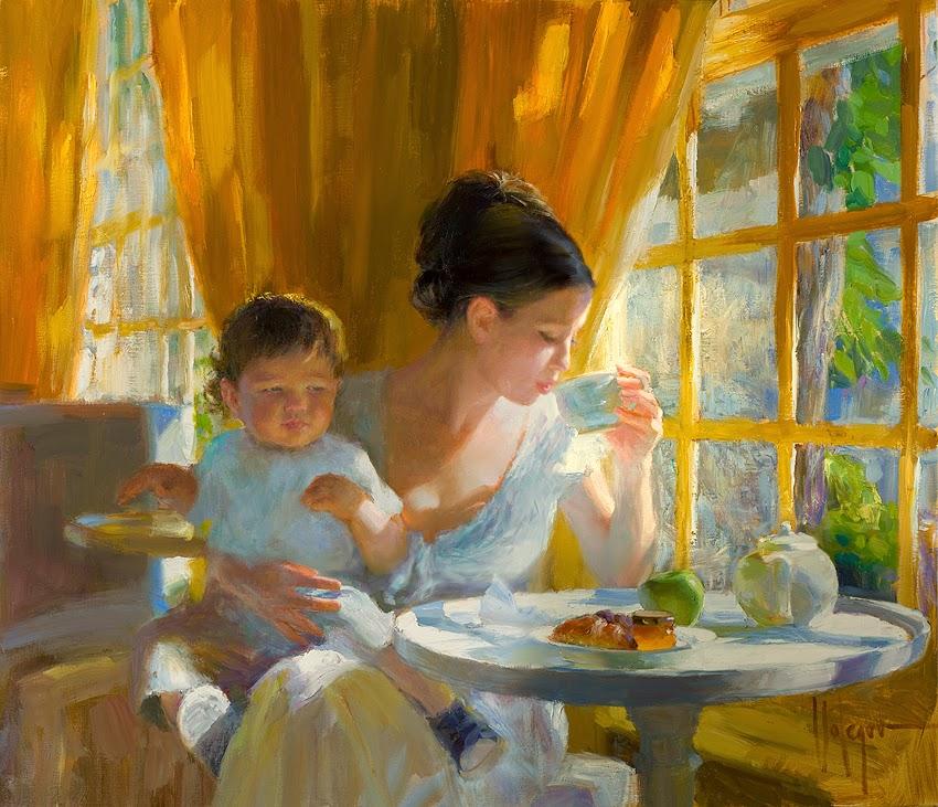 Pintor Russo Vladimir Volegov | Pinturas com Títulos