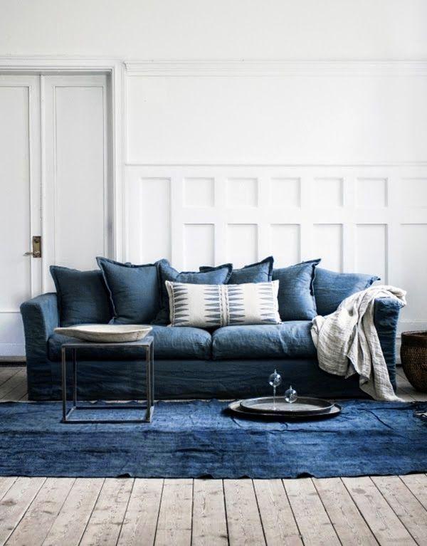 Denim Sofa Love The Wicker House