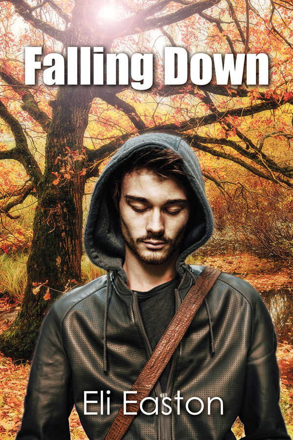 keysmash book review falling down eli easton cover art