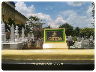 makam pahlawan nasional tengku amir hamzah