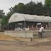 ความคืบหน้าการสร้างพระเมรุมาศจำลอง ที่วัดมหาธาตุ จ.ราชบุรี