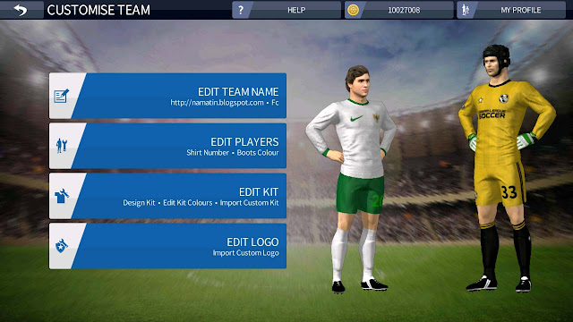 Baju Jersey Dream League Soccer Kits Timnas Indonesia Piala AFF
