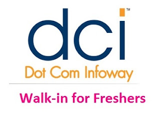 Dot Com Infoway Ltd walkin for freshers