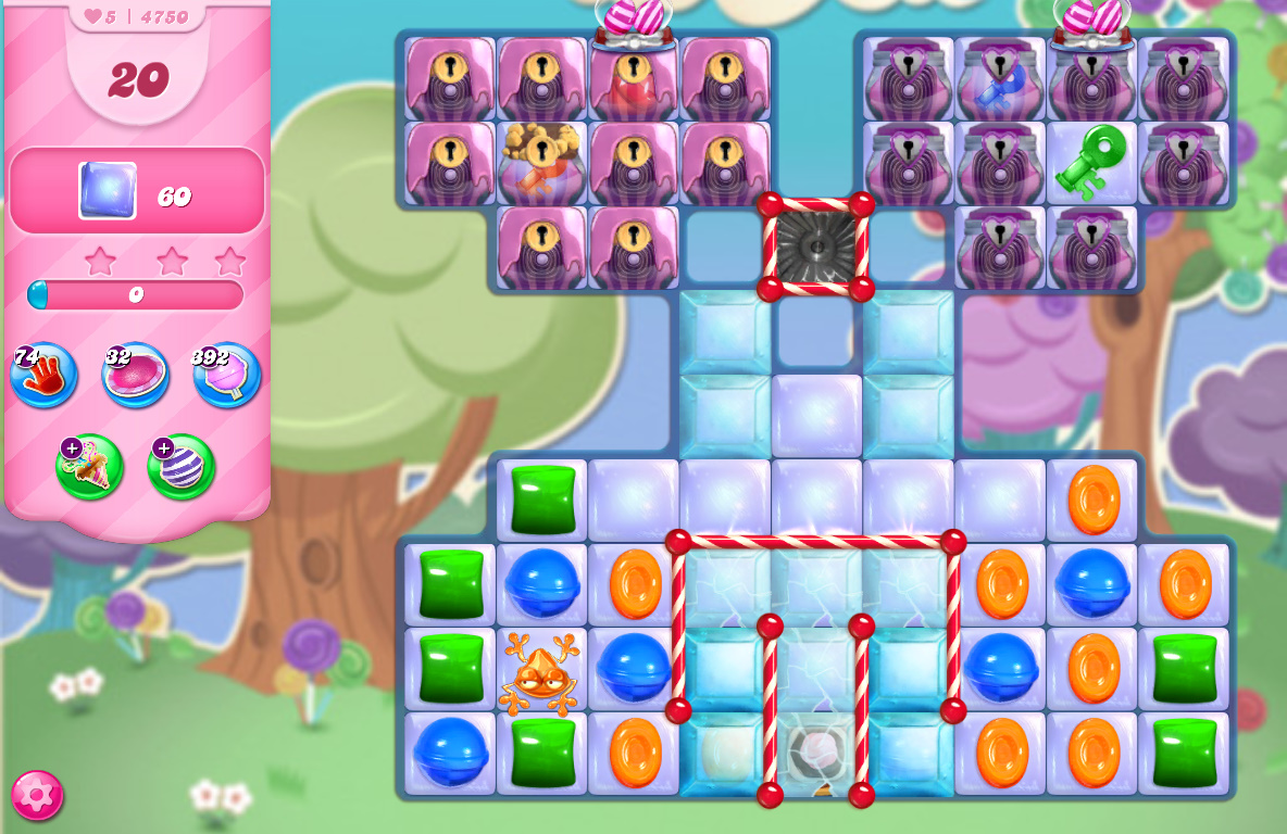 Candy Crush Saga level 4750