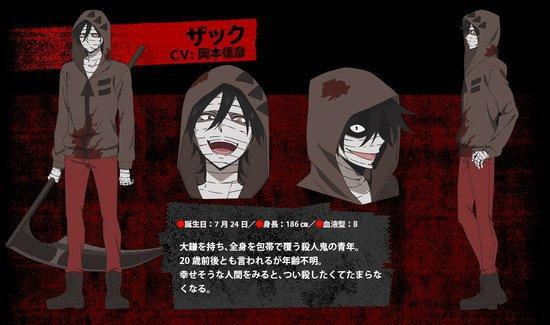Nobuhiko Okamoto como Zack