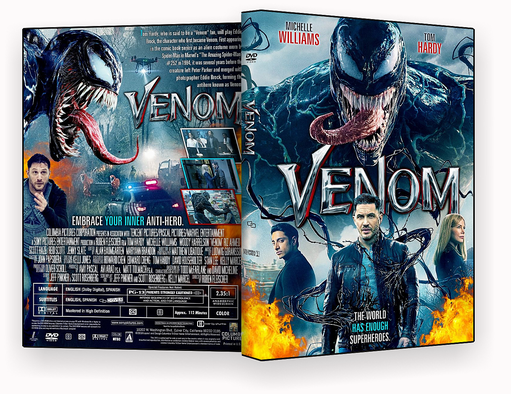 CAPA DVD – Venom 2018 – ISO – CINEMA