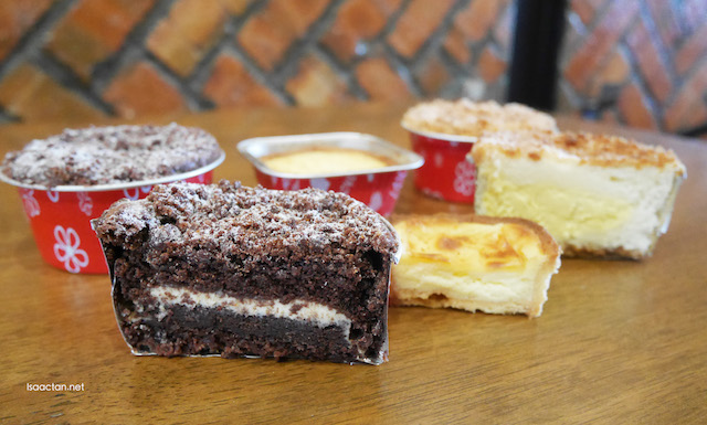 We got to try out all three that afternoon at Yeast Pastry House