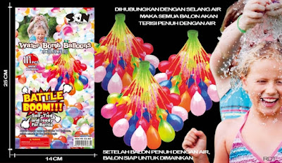 Water Bomb Balloons / Balon Bom Air