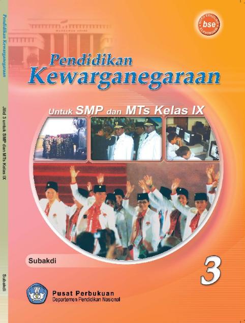 Download Buku Siswa KTSP SMP dan MTs Kelas 9 Pendidikan Kewarganegaraan 3