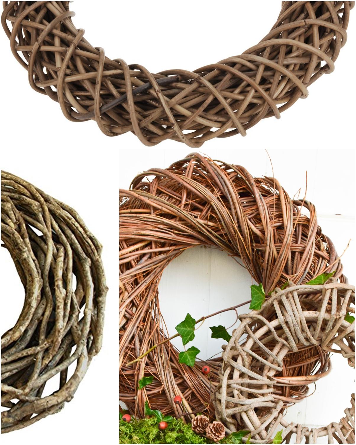 Holzkranz dekorieren Deko. Kranz aus Holz finden: Tipps und Ratgeber für schöne Naturdeko Ideen. Deko mit Natur Naturmaterialien