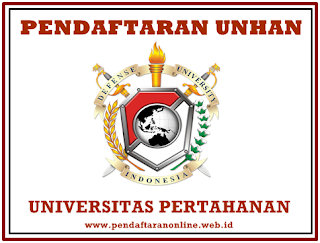 Registrasi Online Maba Universitas Pertahanan Pendaftaran Online UNHAN 2019/2020 (Universitas Pertahanan)