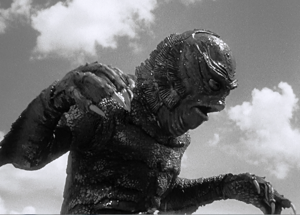 Classic Film and TV Café: Revenge of the Creature...or the Gill Man Visits  Ocean Harbor Oceanarium