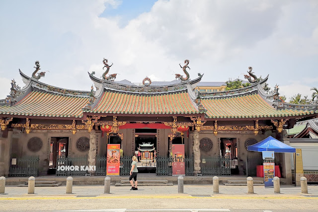 Thian Hock Keng 天福宫 Mazu Temple of Heavenly Blessings in Singapore