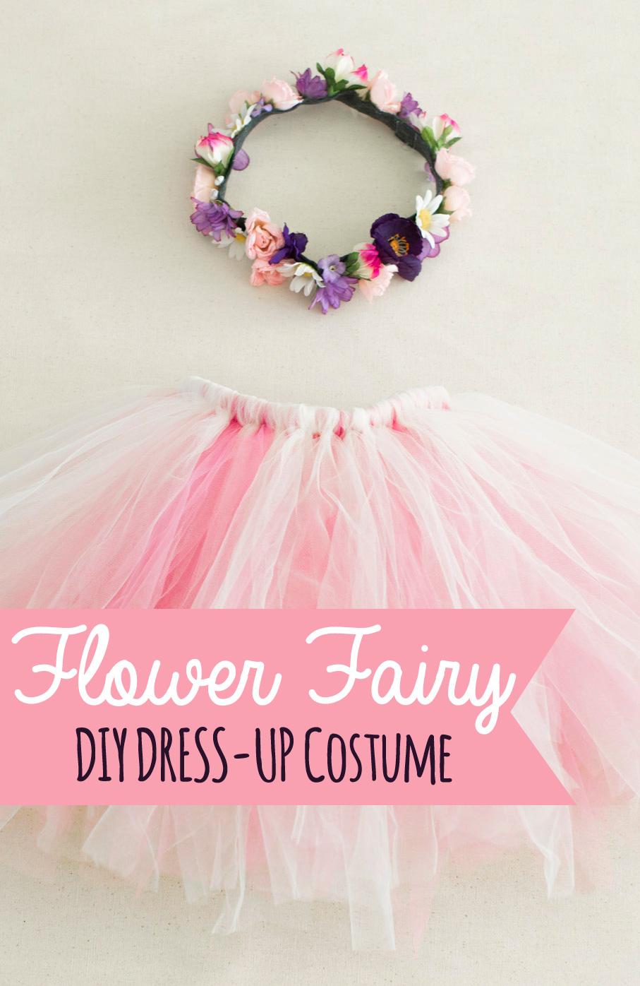 025a79d3874f The Nonpareil Home  DIY Costume - Flower Fairy
