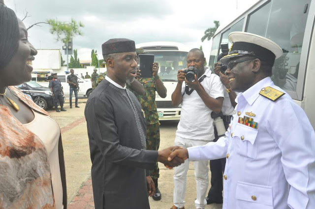 Image result for Governor Okorocha hosts foreign defence attaches