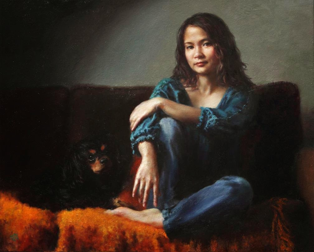 H-Momo-Zhou-Self Portrait-with-Dragon