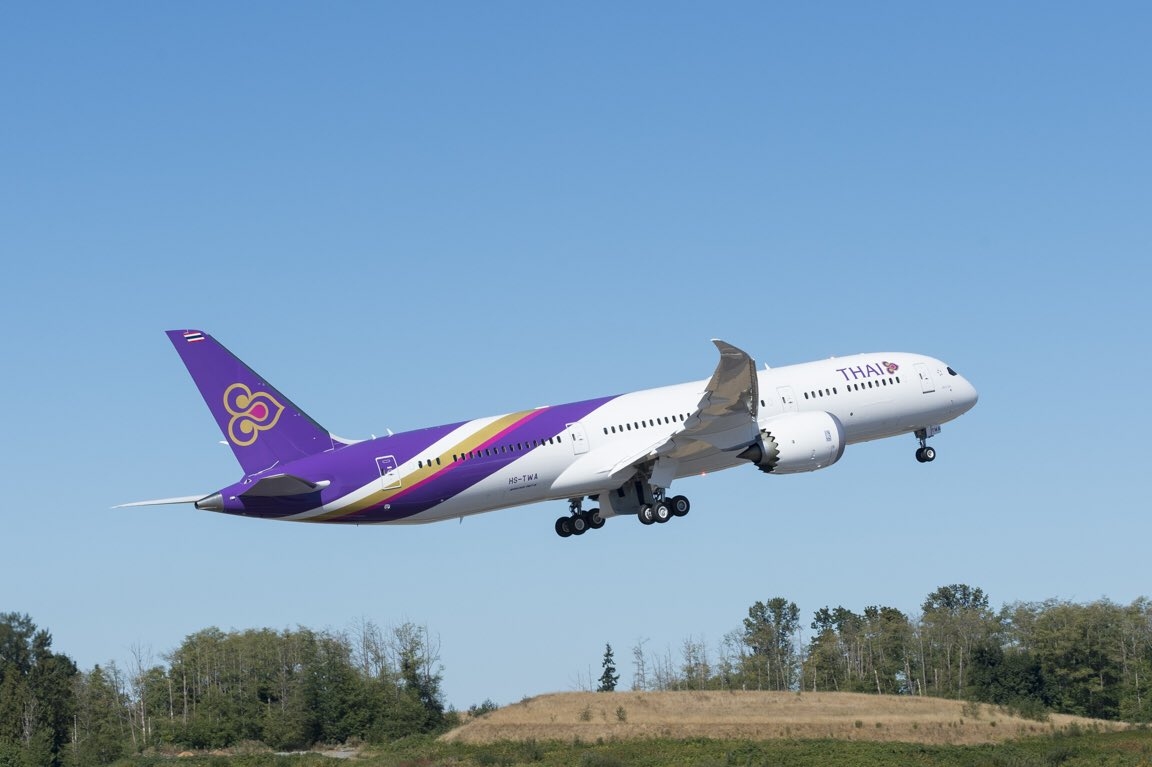 Military and commercial technology thai airways first 787 9 pics looking mighty fine with your first 787 9 thaiairways thanks for being a fantastic partner enjoy your 787 dreamliner source boeing airplanes publicscrutiny Images