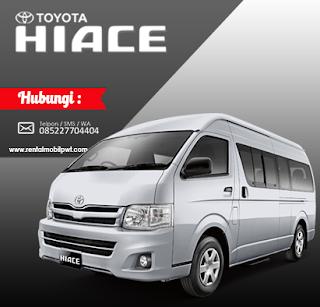 Rental Mobil Purwokerto - Harga Rental Mobil Toyota HIACE Terbaru