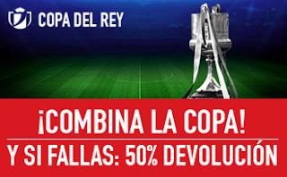 sportium promocion Copa del Rey cuartos final 18-19 enero