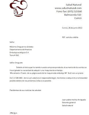 Que Es Una Carta De Solicitud De Prestamo 4 carta solicitudCarta
