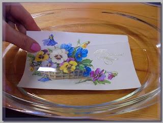 открытка для декупажного рисунка