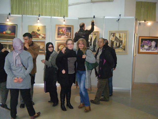 Exposition de peintures à La Galerie Aicha Haddad 12