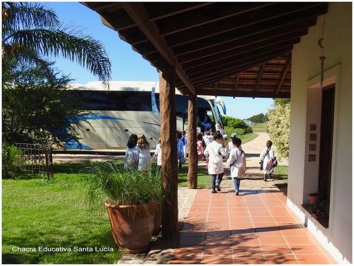 Animoso fin de la jornada, ¡hasta la próxima! - Chacra Educativa Santa Lucía
