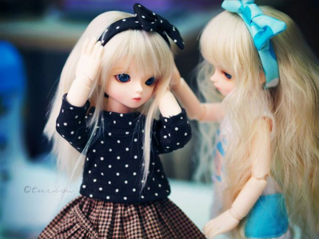 Cute Barbie Doll Wallpaper Images Innocent Dolls Lover Sisterly Love