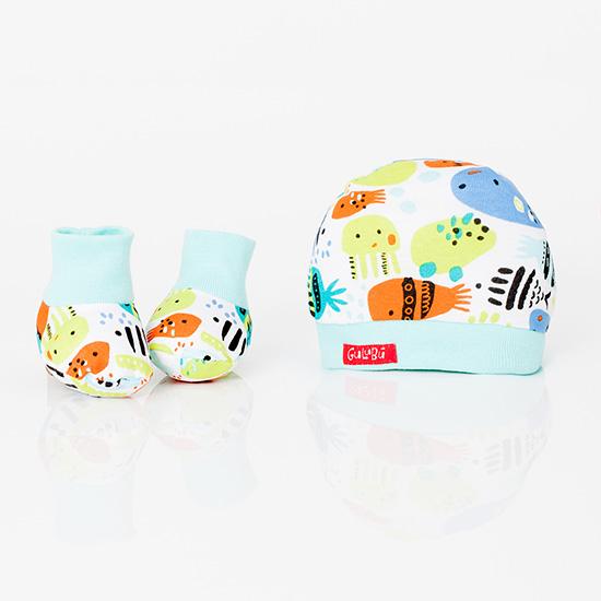 Set de accesorios para bebes primavera verano 2018.