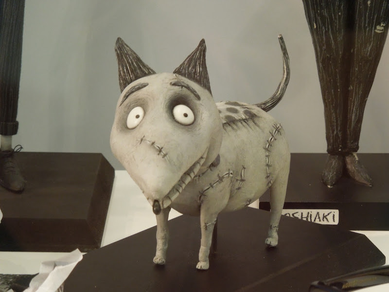 Frankenweenie Sparky stopmotion puppet