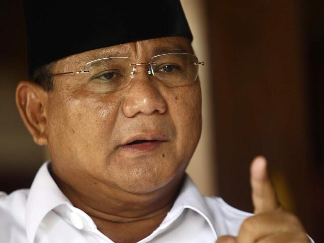 Prabowo Ungkit Hasil 2014: Saya Diperlakukan Tak Adil, Apa Saya Berontak?