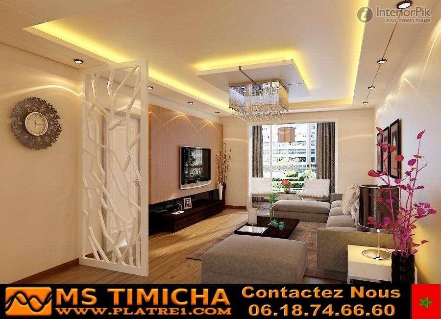 platre maroc ms timicha decoration platre plafond salon. Black Bedroom Furniture Sets. Home Design Ideas