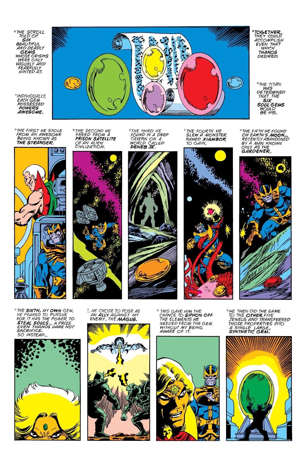 Diversions of the Groovy Kind: Thanos Week! Secret Origins ...