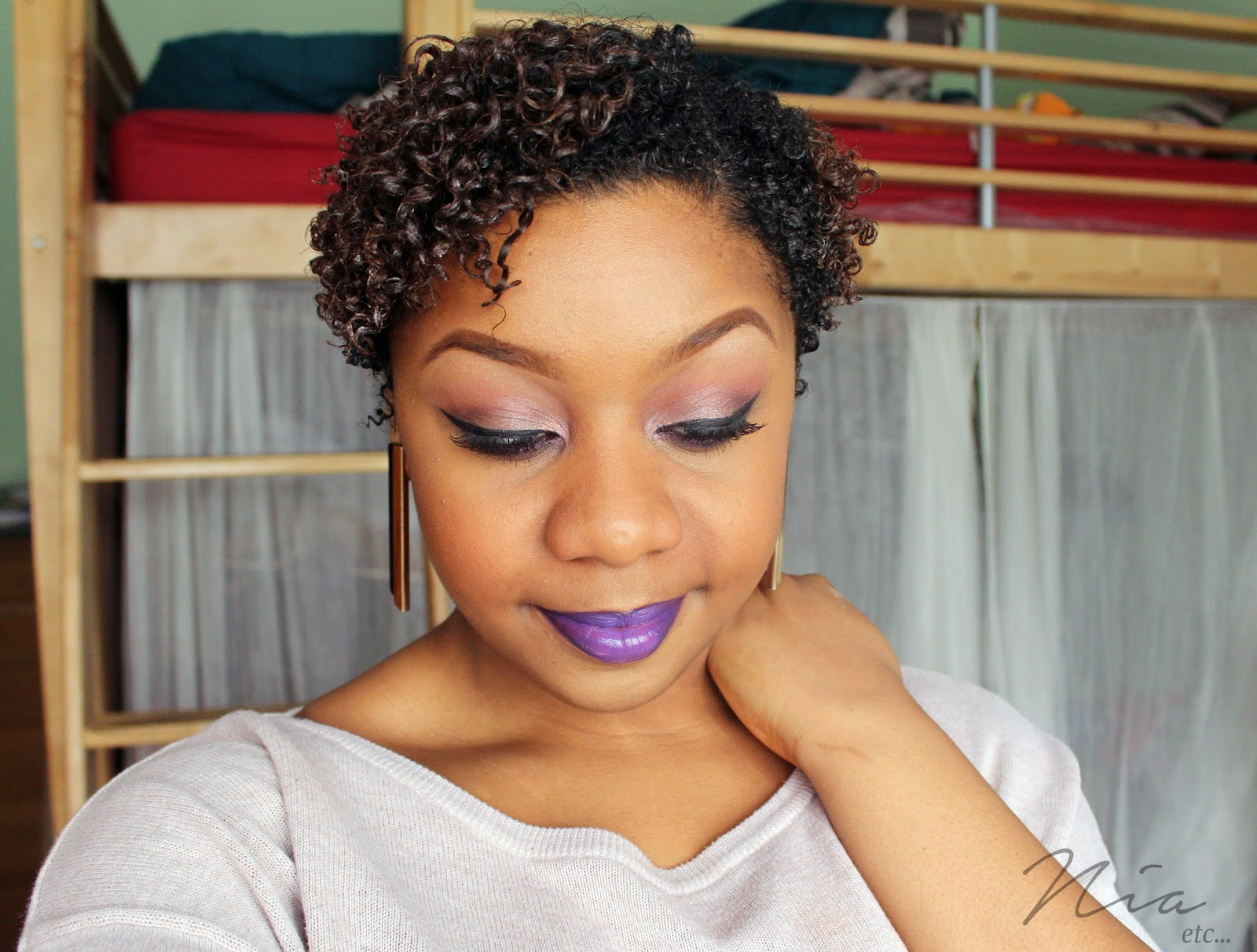 Pretty in Purple Make Up Look 8